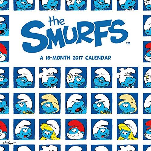 2017 SMURFS Calendar - 12 x 12 Wall Calendar