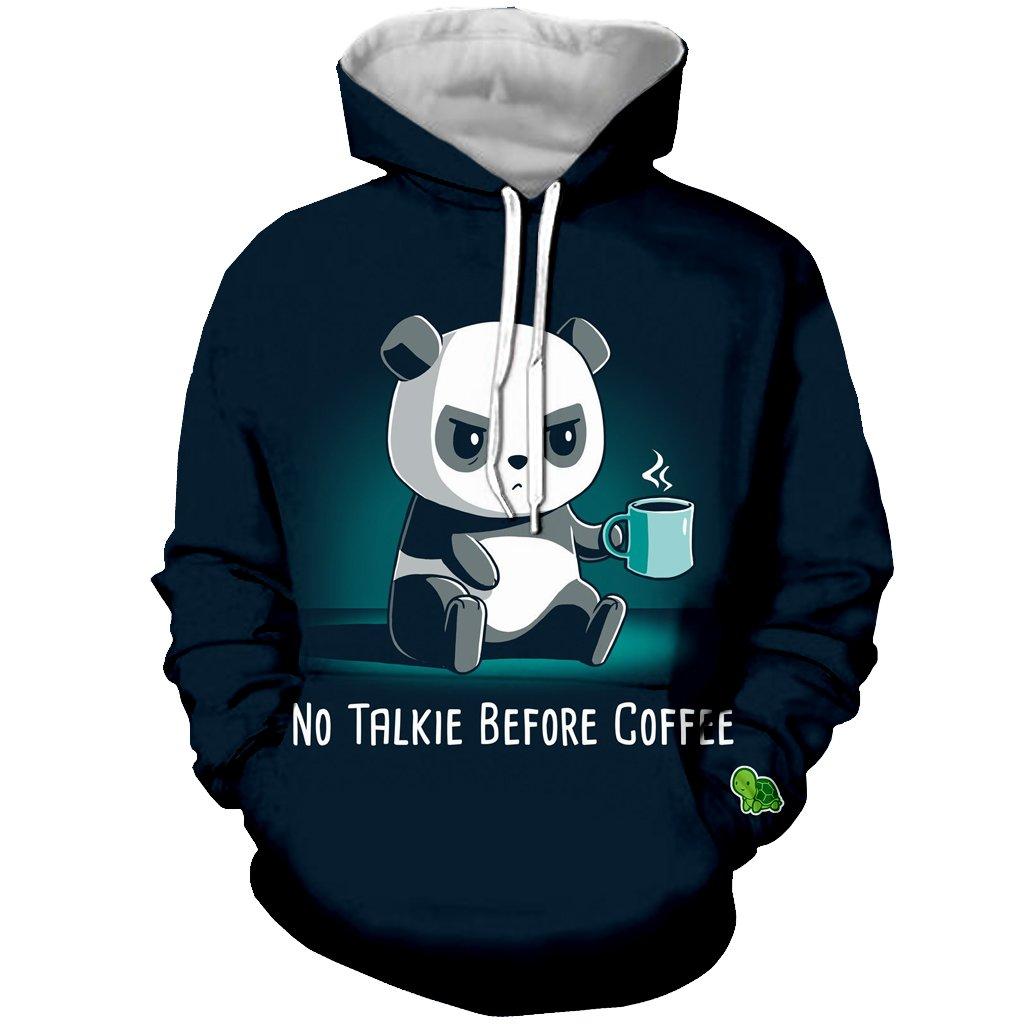 YX GIRL Unisex 3D Printed Panda Hoodies Funny Hooded Sweatshirt Pockets (M, Panda Hoodies 01)