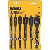 DEWALT Drill Bit Set, Spade Bits, Assorted, 3/8-Inch to 1-Inch, 6-Piece (DW1587)