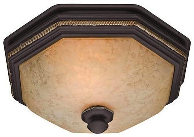 Hunter 82023 Ventilation Belle Meade Bathroom Exhaust Fan And Light