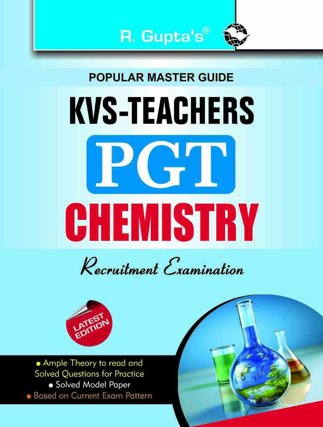 Buy KVS: Teachers (PGT) Chemistry Guide Book Online at Low