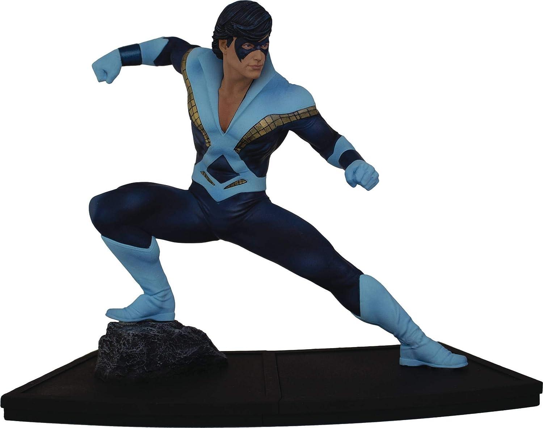 Icon Heroes- DC Heroes Teen Titans: Nightwing 1:9 Scale Figura Coleccionable, Multicolor (AUG188621): Amazon.es: Juguetes y juegos