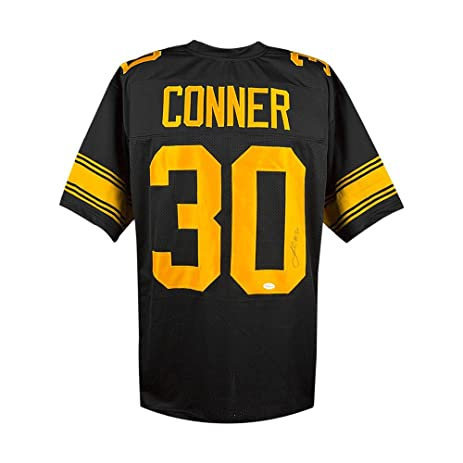 steelers uniforms james conner autographed pittsburgh steelers color rush custom