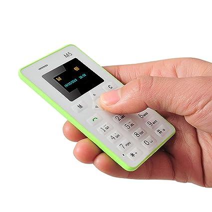 Amazon.com: ueetek M5 Mini tarjeta bolsillo para el teléfono ...
