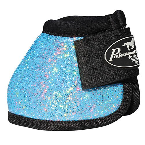 Professionals Choice Secure-Fit Boots Large Glitter Turquoise