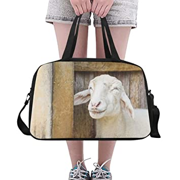 Travel Duffels Lovely Sheep Duffle Bag Luggage Sports Gym for Women /& Men