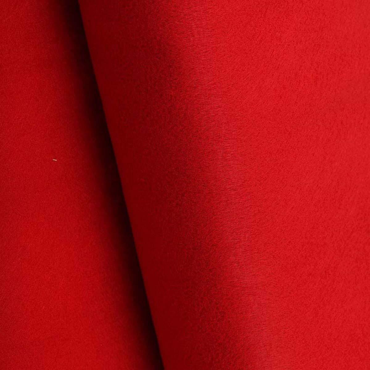 Longueur /à la coupe par 20cm Rouge Tomate Largeur 180cm Feutrine /à la coupe