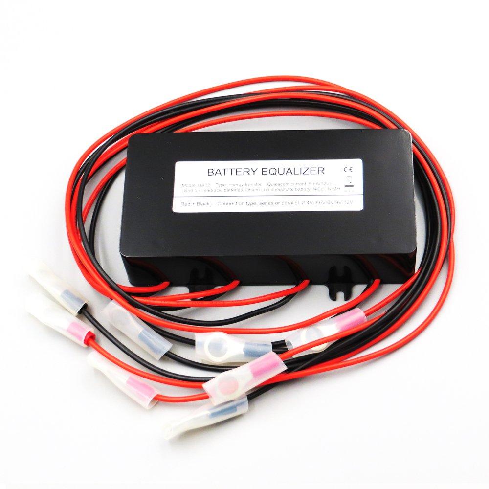 DPJ HA02 Batteries Voltage Equalizer Balancer for Li li-ion Lead Acid Battery Connected in Parallel Series for 24v 36v 48v Control