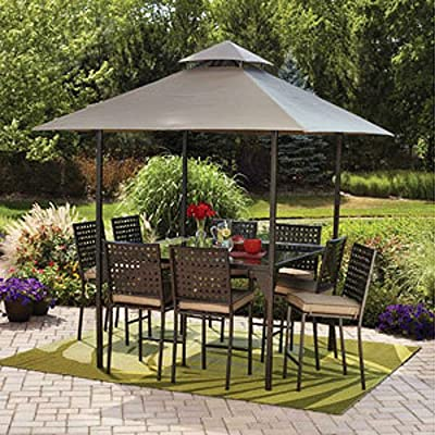 Gathering Heights Gazebo Replacement Canopy Top Cover : Garden & Outdoor