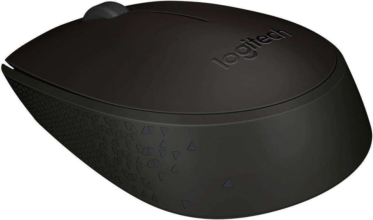2.4 GHz con Nano Receptor Bater/ía de 12 Meses Logitech B170 Rat/ón Inal/ámbrico PC//Mac//Port/átil Gris Ambidiestro Seguimiento /Óptico
