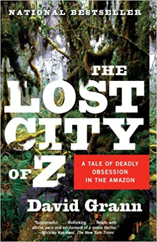 of city z audiobook the lost