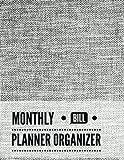 Monthly Bill Planner Organizer: Cloth Design Budget
