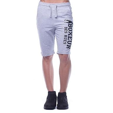 BOXEUR DES RUES bxe-1704g, Pantalones Cortos para Hombre: Amazon ...