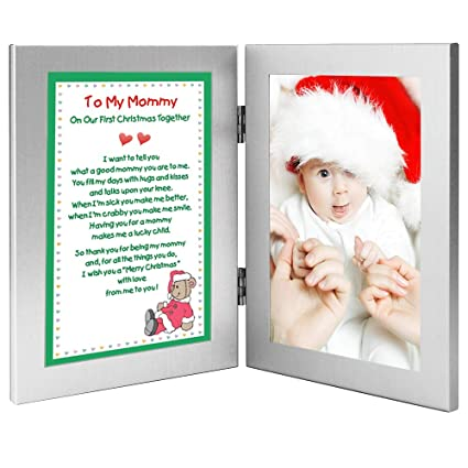 poetry gifts new mom to my mommy on our first christmas together add photo