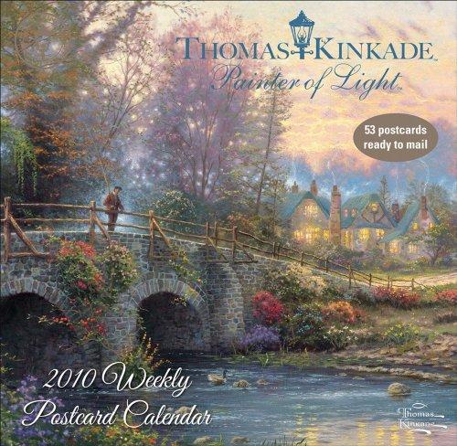 - Thomas Kinkade Painter of Light: 2010 Weekly Postcard