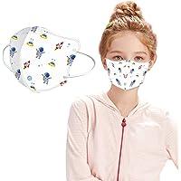 Ramang 50PC mascarillas niños,mascarillas niños,mascarillas quirúrgicas para niños