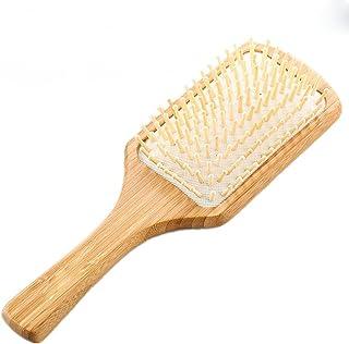 GUO Grande plaque de bambou airbag coussin massage cheveux peigne santé antistatique
