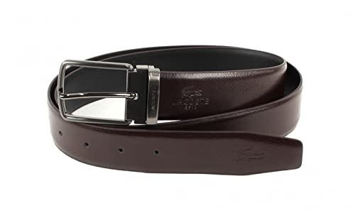 LACOSTE Curved Welded Belt W95 Brown