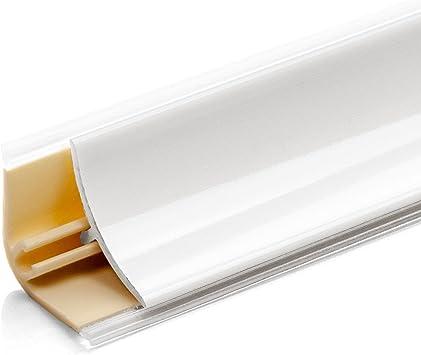 DQ-PP Endst/ück Abschlu/ßleisten Winkelleisten Schwarz matt Tischplatte Leisten