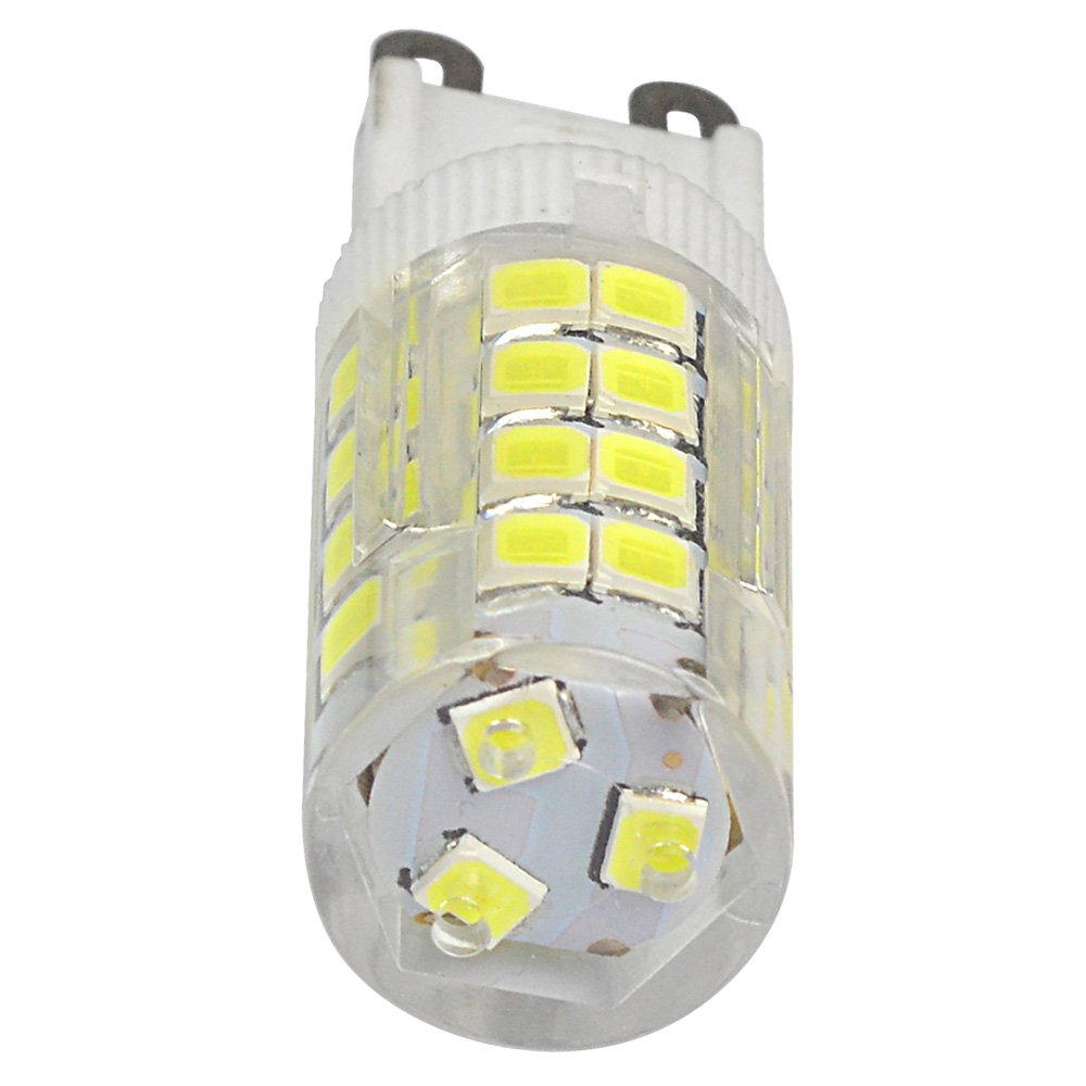 4pz MENGS/® Lampada LED 5W G9 LED 51x 2835 SMD Lampadina LED Bianco freddo 6000k, 360 angolo, 480lm, AC 220-240V , 15 x 48mm Lampadine a risparmio energetico