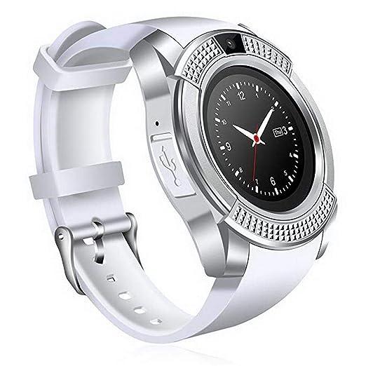 Tiowea Smartwatch Bluetooth Smart Watch multinacional Voice Fitness Tracker Reloj Deportivo con cámara podómetro sueño Tracker Romte Capture ...