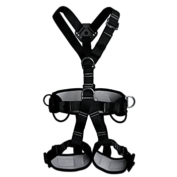 Amazon Com Ferdim Thicken Wider Climbing Full Body Harness