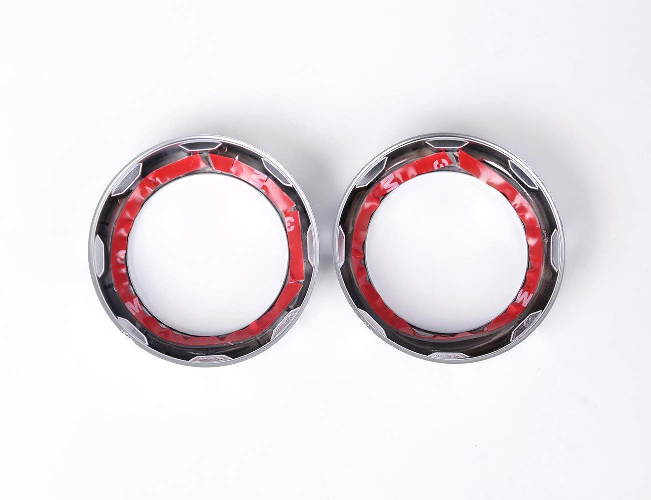 TongSheng ABS Chrome Car Rear Air Outlet Vent Ring Decoration Sticker Frame Trim Cover for Land Rover Discovery 4 2009-2016 for Land Rover Discovery 3 for Range Rover Sport 2005-2013