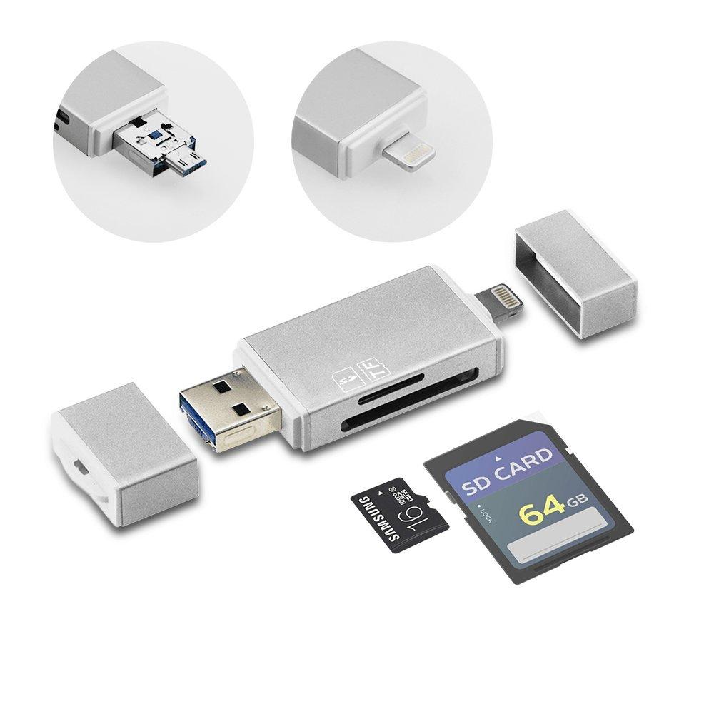 GiBot USB  lector de tarjetas de memoria SD  Micro Sd