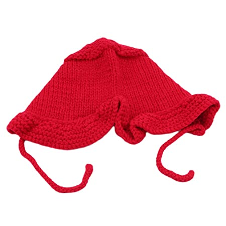 L_shop - Gorro de Punto de Invierno para bebé (algodón Suave ...