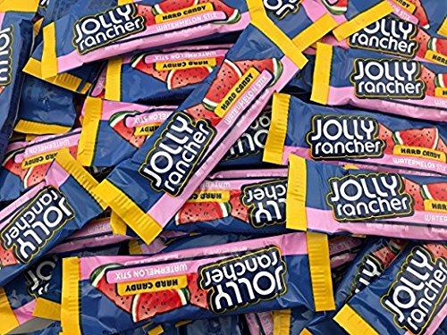 Jolly Rancher Stix Watermelon, Hard Candy (Pack of 2 Pounds) (Jolly Rancher Stix)
