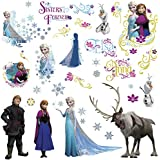 USTORE Vinyl Sticker Decal Disney Frozen Movie Olaf ELSA Anna 3D Weather Resist for Bumper Windows Wall, 12""