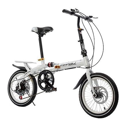 Bicicleta Plegable De 16 Pulgadas De Velocidad Bicicleta/Bicicleta De Montaña De Absorción De Impactos