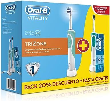 Oral-B - Cepillos dentales trizone duo caja-2: Amazon.es: Salud y ...
