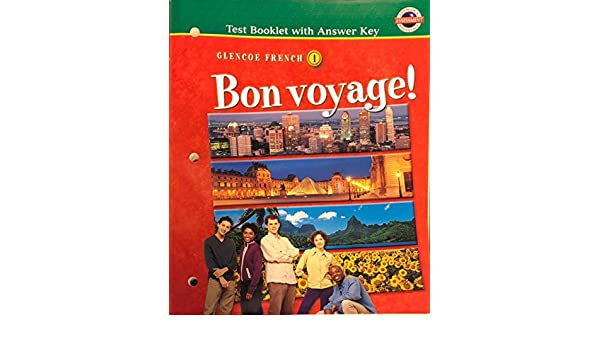 Bon Voyage Level 1 Testing Booklet With Answer Key McGraw