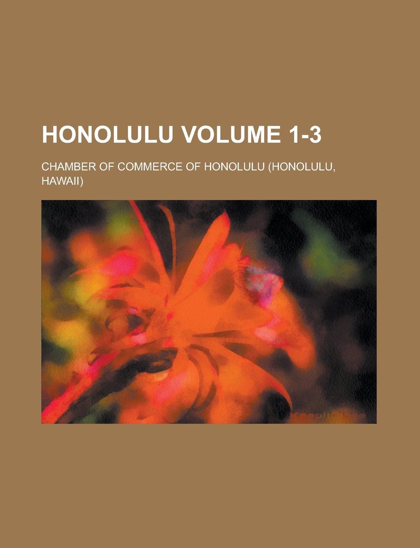 Honolulu Volume 1-3 pdf epub