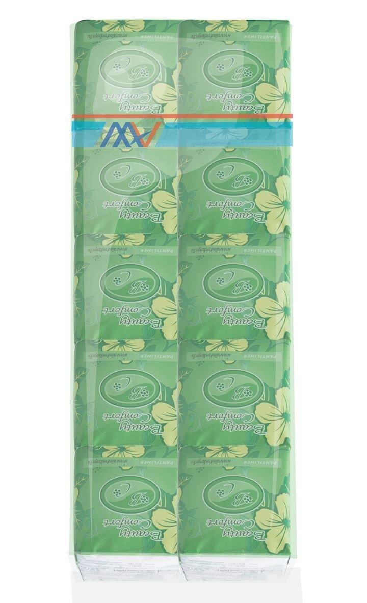 Happyland2u Bio Sanitary Pads Beauty Comfort - Bio Sanitary Pads for Daily Used Pantiliner 1 Bag/10 Pack. Long 16 Cm. by Happyland2u (Image #1)