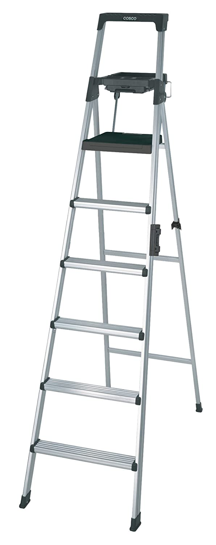 cosco 8 foot signature series step ladder type 1a amazon com