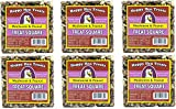 Happy Hen (Case of 6) Treats 7.5 oz. Square-Mealworm and Peanut, 4.25'' by 4.25'' by 1.25''
