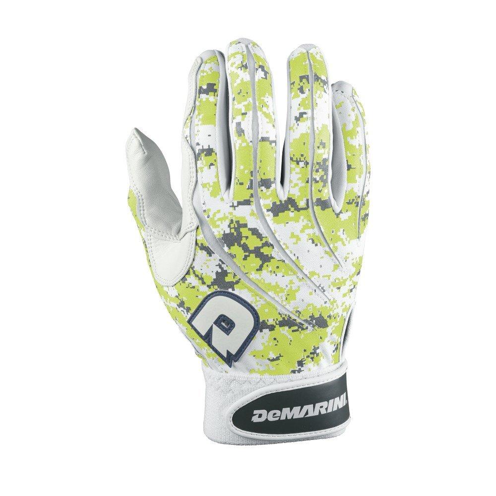 DeMarini Youth Digi Camoバッティング手袋 B00LN561C2 Large|グリーン グリーン Large