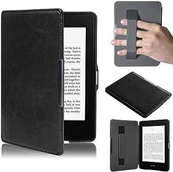TREESTAR Kindle Paperwhite estuche protector delgado Amazon Case Acdream (para Kindle Paperwhite versión 1, 2, 3 generación), negro, ≤184 * 123 * 8mm: Amazon.es
