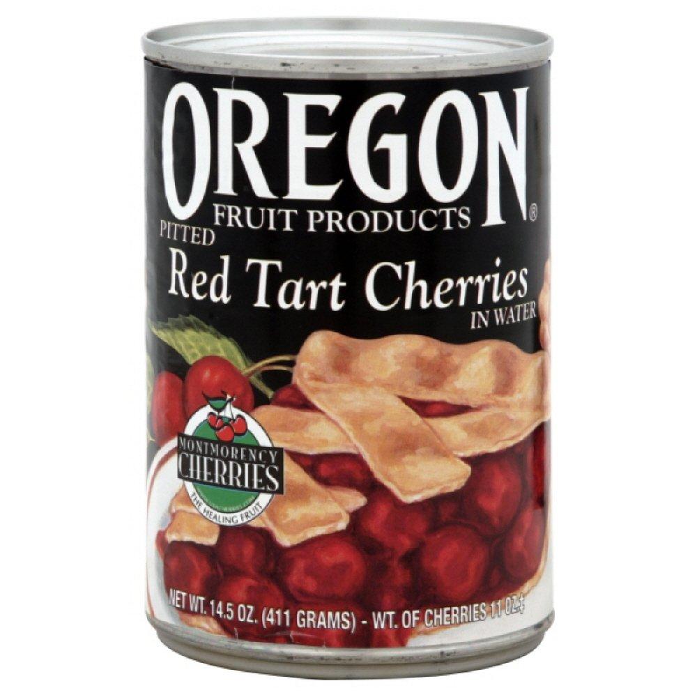 Oregon Fruit Pie Cherries Red Tart, 14.5-Ounce (Pack of 4)