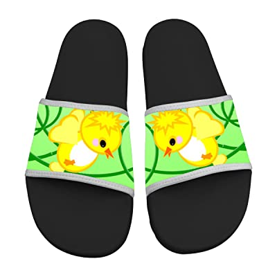 34 Chick Cartoon Slide Sandals Slippers Soft Comfortable Non-slip Casual Sandals Men & Women
