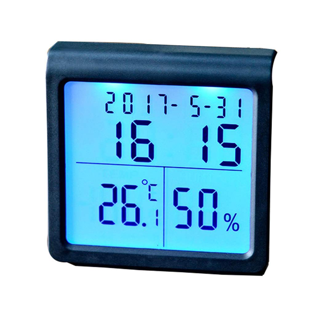 Tabletop Hygrometer, Home Baby Room Luminous Digital Electronic High Precision Thermometer LYLLB-thermometer