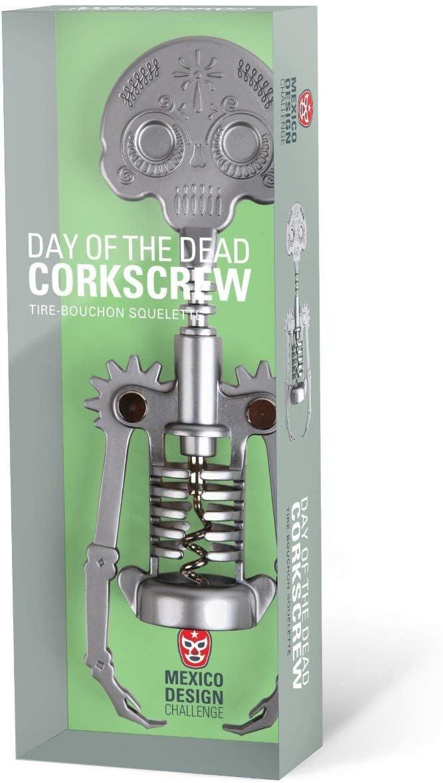 Day of the dead Cork Screw by Kikkerland CS14