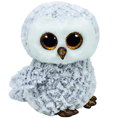 Ty Beanie Boos Owlette - White/Gray Owl Medium: Toys & Games