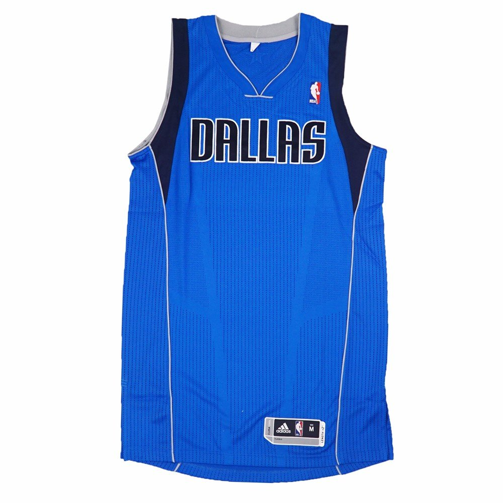 bc1edd65bb5a Amazon.com   Dallas Mavericks NBA Adidas Blue Official Authentic On-Court  Revolution 30 Away Road Jersey For Men   Sports   Outdoors