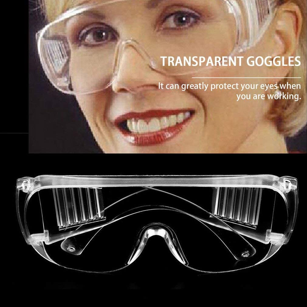 Arbeitsschutz Antibeschlag Transparent Medizinische Verwendung Staub Augenschutz Arbeitsschutz Wind DUAN Schutzbrille f/ür Arbeitsplatz