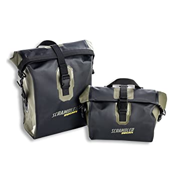 Amazon.com: Ducati Scrambler Urban Enduro impermeable bolsas ...