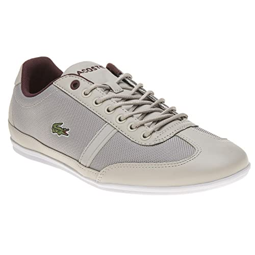 a4d7cd49e Lacoste Misano Sport 317 Trainers Grey 6 UK  Amazon.co.uk  Shoes   Bags