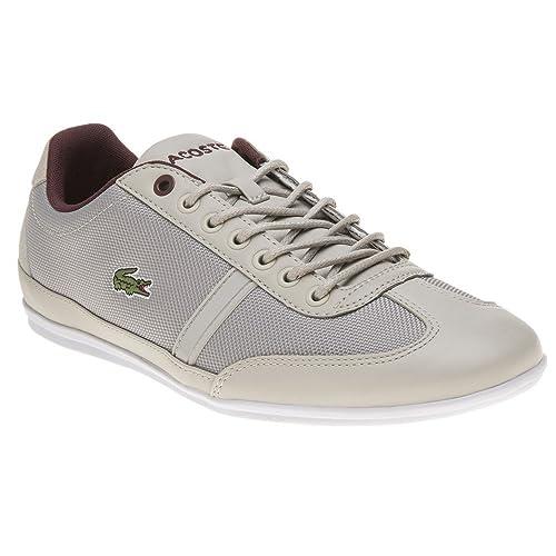 Lacoste Misano Sport 317 Hombre Zapatillas Gris: Amazon.es: Zapatos y complementos